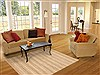 Modern Beige Hand Knotted 48 X 67  Area Rug 100-11977 Thumb 5