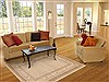 Gabbeh Beige Hand Knotted 49 X 68  Area Rug 100-11982 Thumb 5