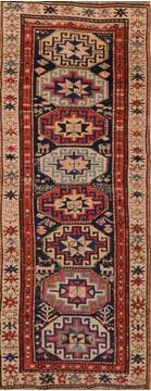 "Baluch Blue Runner Hand Knotted 2'8"" X 7'5""  Area Rug 100-110907"