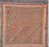 Baluch Blue Square Hand Woven 18 X 22  Area Rug 100-111070 Thumb 0