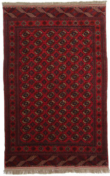 Russia Bokhara Red Rectangle 6x9 ft Wool Carpet 111877