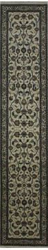 "Nain Beige Runner Hand Knotted 2'6"" X 12'10""  Area Rug 902-112106"