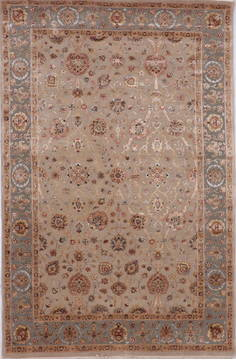 "Jaipur Brown Hand Knotted 6'0"" X 9'2""  Area Rug 905-112460"