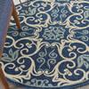 Nourison Caribbean Blue Round 40 X 40 Area Rug  805-112880 Thumb 4