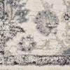 Nourison FUSION White 53 X 73 Area Rug  805-113116 Thumb 5