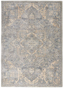 "Nourison Moroccan Celebration Grey 5'3"" X 7'3"" Area Rug  805-113748"