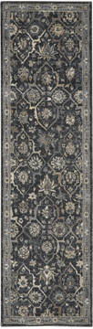 "Nourison Moroccan Celebration Blue Runner 2'2"" X 7'6"" Area Rug  805-113762"