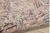 Nourison Linked Multicolor 39 X 59 Area Rug  805-113864 Thumb 2