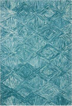 "Nourison Linked Blue 3'9"" X 5'9"" Area Rug  805-113871"