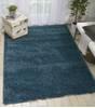 Nourison MALIBU SHAG Blue 710 X 910 Area Rug  805-114139 Thumb 1