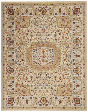 "Nourison Majestic Grey 7'9"" X 9'9"" Area Rug  805-114166"