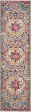 "Nourison Passion Grey Runner 1'10"" X 6'0"" Area Rug  805-114525"