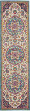 "Nourison Passion Beige Runner 2'2"" X 7'6"" Area Rug  805-114530"