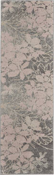 "Nourison Tranquil Grey Runner 2'3"" X 7'3"" Area Rug  805-115123"