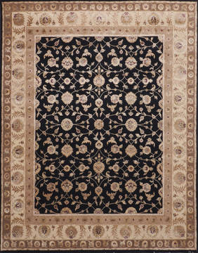 "Jaipur Black Hand Knotted 8'0"" X 10'0""  Area Rug 905-115800"
