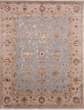 "Jaipur Blue Hand Knotted 7'11"" X 10'1""  Area Rug 905-115816"