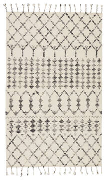 Jaipur Living Adair White Rectangle 9x12 ft Wool and Silk Carpet 115834