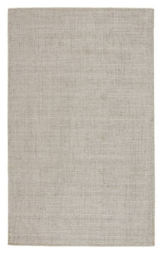 "Jaipur Living Basis White 5'0"" X 8'0"" Area Rug RUG138086 803-116082"