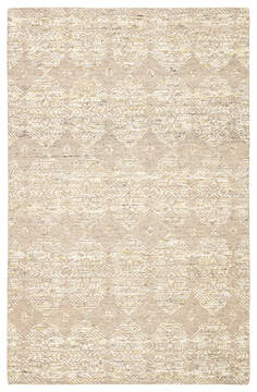 Jaipur Living Burke Beige Rectangle 8x10 ft Wool and Viscose Carpet 116221