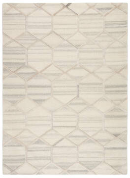 "Jaipur Living City White 5'0"" X 8'0"" Area Rug RUG136649 803-116816"