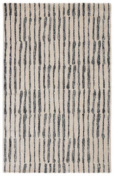 Jaipur Living Etho By Nikki Chu White Rectangle 9x12 ft Wool and Viscose Carpet 117197