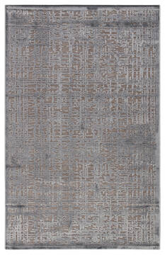 Jaipur Living Fables Grey Rectangle 2x3 ft Acrylic and Rayon and Polyester Carpet 117233