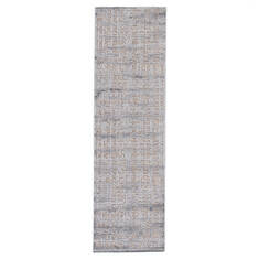 Jaipur Living Fables Grey Runner 6 to 9 ft Acrylic and Rayon and Polyester Carpet 117237