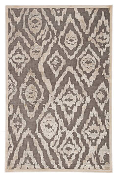 Jaipur Living Fables Brown Rectangle 9x12 ft Acrylic and Rayon and Polyester Carpet 117325