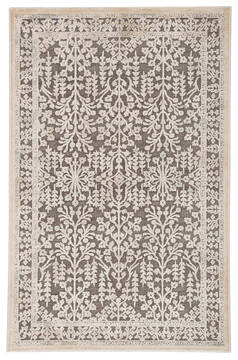 Jaipur Living Fables Brown Rectangle 9x12 ft Acrylic and Rayon and Polyester Carpet 117333