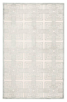 "Jaipur Living Fables White 5'0"" X 7'6"" Area Rug RUG141750 803-117342"