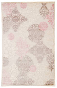 Jaipur Living Fables White Runner 6 to 9 ft Acrylic and Rayon and Polyester Carpet 117362