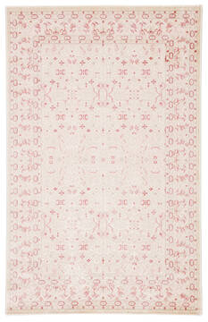 "Jaipur Living Fables White 5'0"" X 7'6"" Area Rug RUG142066 803-117367"