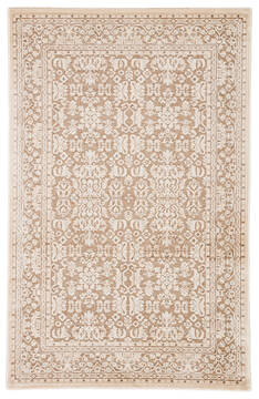 Jaipur Living Fables Beige Rectangle 9x12 ft Acrylic and Rayon and Polyester Carpet 117377
