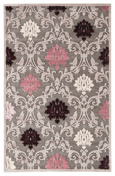 Jaipur Living Fables Grey Rectangle 10x13 ft Acrylic and Rayon and Polyester Carpet 117381