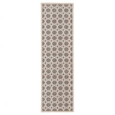 Jaipur Living Fables White Runner 6 to 9 ft Acrylic and Rayon and Polyester Carpet 117387