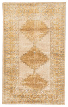 "Jaipur Living Gallant Yellow Runner 3'0"" X 12'0"" Area Rug RUG141985 803-117588"