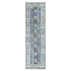 "Jaipur Living Indie Blue Runner 2'6"" X 8'0"" Area Rug RUG142881 803-117695"