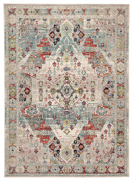 "Jaipur Living Indie Multicolor 5'3"" X 7'6"" Area Rug RUG142860 803-117714"