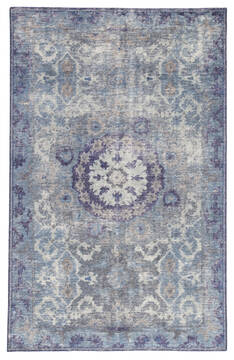 Jaipur Living Kai Blue Rectangle 5x8 ft Wool Carpet 117829