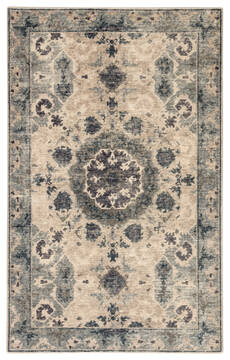 Jaipur Living Kai Blue Rectangle 2x3 ft Wool Carpet 117835