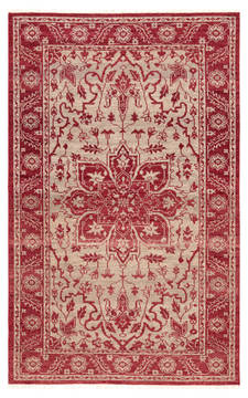 "Jaipur Living Liberty Red 5'6"" X 8'0"" Area Rug RUG142520 803-117964"