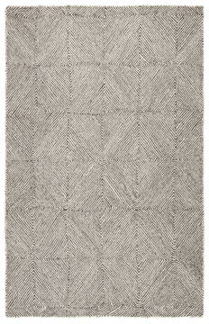 Jaipur Living Traditions Made Modern Tufted White Rectangle 5x8 ft Wool and Viscose Carpet 118137