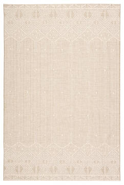 Jaipur Living Monteclair Beige Rectangle 5x8 ft Polypropylene and Polyester Carpet 118153
