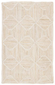 "Jaipur Living Naturals Tobago White 9'0"" X 12'0"" Area Rug RUG129907 803-118330"