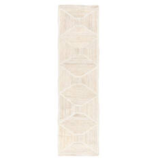 "Jaipur Living Naturals Tobago White Runner 2'6"" X 9'0"" Area Rug RUG134596 803-118331"