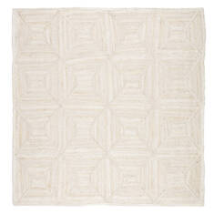 "Jaipur Living Naturals Tobago White Square 8'0"" X 8'0"" Area Rug RUG134597 803-118332"