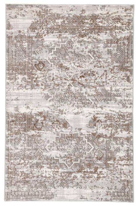 Jaipur Living Nashua Grey Rectangle 3x5 Ft Polypropylene