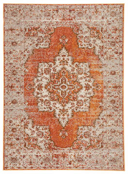 "Jaipur Living Peridot Orange 4'0"" X 5'8"" Area Rug RUG141637 803-118852"