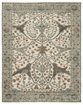 Jaipur Living Salinas Green Rectangle 8x10 ft Wool Carpet 119192