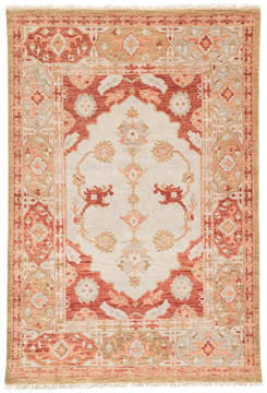 Jaipur Living Village By Artemis Red Rectangle 6x9 ft Wool Carpet 119494